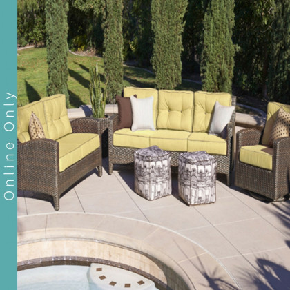 The Elegance Collection by NorthCape - Wicker Furniture, Erwin & Sons, NorthCape Carolina Pottery