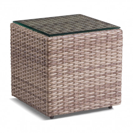 Biscayne End Table - Fieldstone