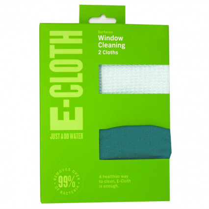 e-cloth Window Cleaning Cloth 2-pk