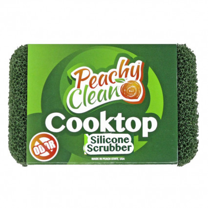 Peachy Clean Cooktop Silicone Scrubber