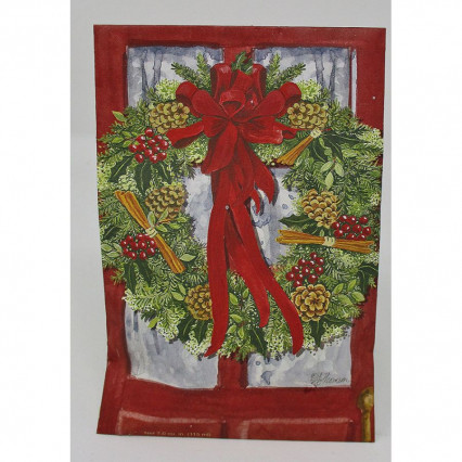 Christmas Wreath Sachet - large