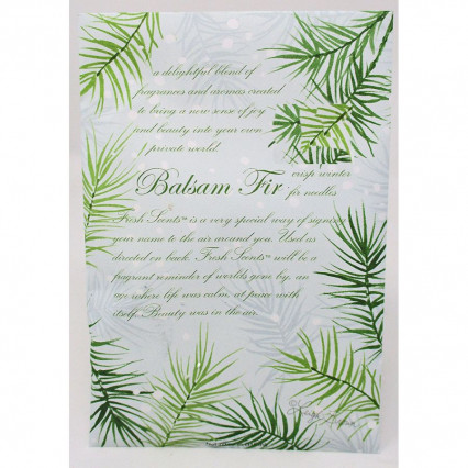 Balsam Fir Sachet - large