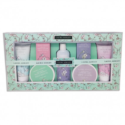 Assorted 7-pc Total Body Care Gift Set by Laura Ashley