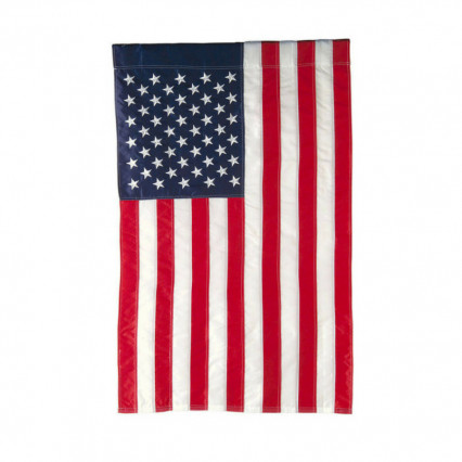 American Applique House Flag