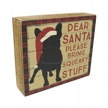 Squeaky Stuff Christmas Box Sign