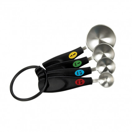 OXO Softworks Stainless Steel Measuring Spoons (4 pc.)