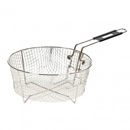 "10.5"" Deep Fry Basket w/ Folding Handle"