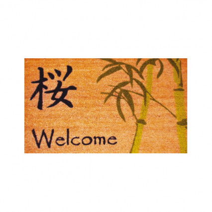 Asian Welcome Doormat