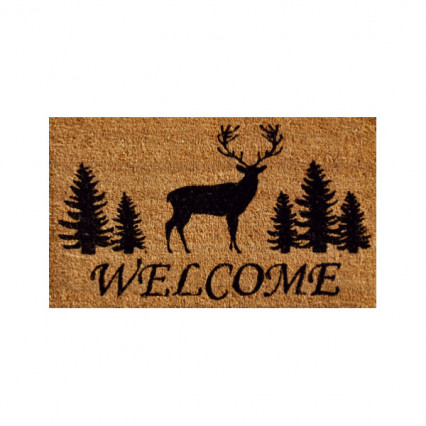 Elk Forest Welcome Doormat - 2' x 3'