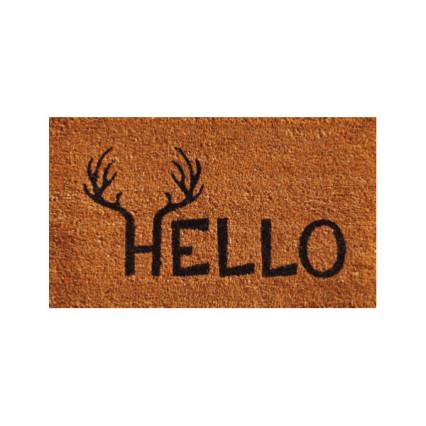 antler hello doormat 2u0027