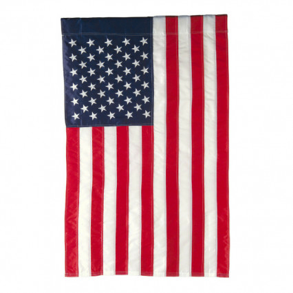 American Extra-Large Applique Estate Flag