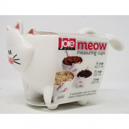 Meow Cat Measuring Cups by Joie