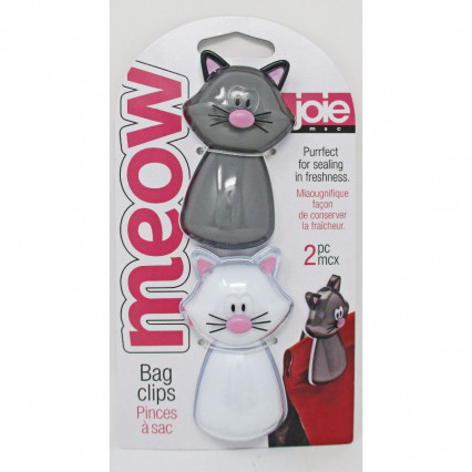Meow Cat Bag Clips by Joie