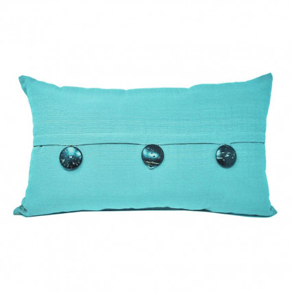 "24""x14"" Sunshine Capri Pillow 3-button Indoor Outdoor Pillow"