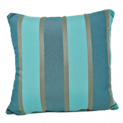 "17"" Barbados Spa Indoor Outdoor Accent Throw Pillow"