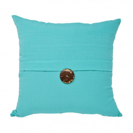 "17"" Sunshine Capri Pillow 1-button Indoor Outdoor Pillow"