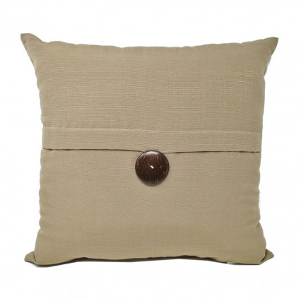"17"" Sunshine Linen Pillow 1-button Indoor Outdoor Pillow​"