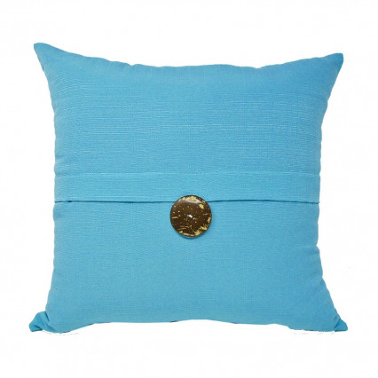 "17"" Sunshine Sky 1-button Indoor Outdoor Pillow"