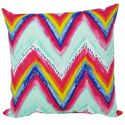 Gypsy Stripe Indoor Outdoor Accent Throw Pillow