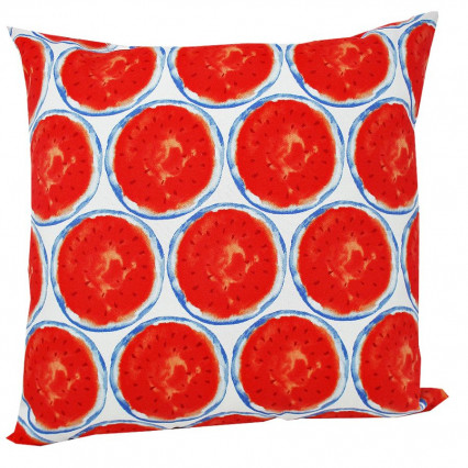 "17"" Mellon Indoor Outdoor Accent Throw Pillow"