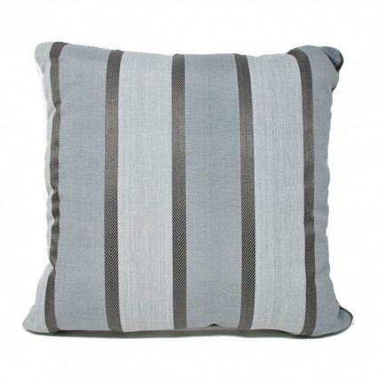 "17"" Barbados Slate Indoor Outdoor Accent Throw Pillow"