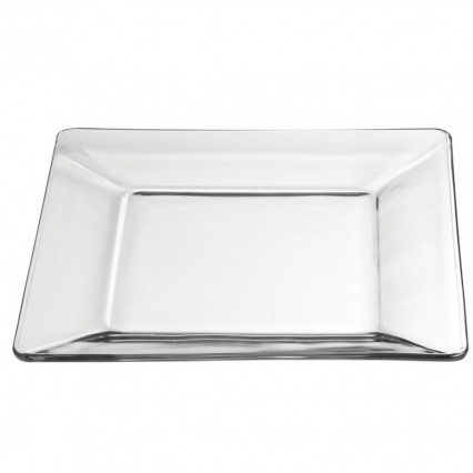 Tempo Glass Dinner Plate