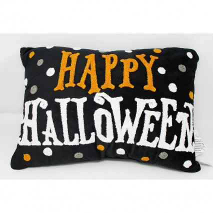 Happy Halloween Accent Throw Pillow