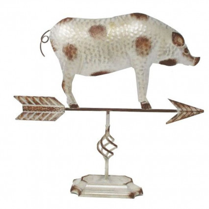 Pig Metal Decorative Weathervane