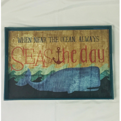 """Seas the Day"" Serving Tray"