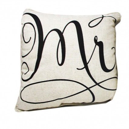 "17"" Mr. Decorative Accent Throw Pillow"