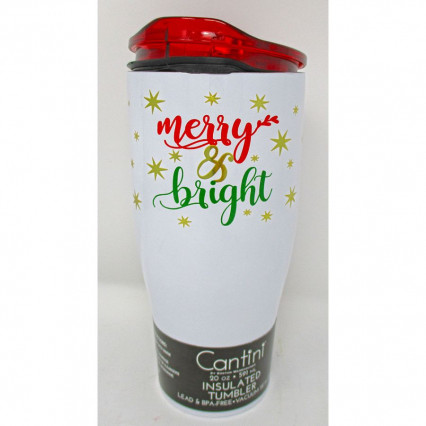 Cantini Travel Mug - Merry and Bright