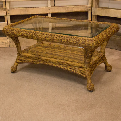 Carolina Antique Coffee Table by Erwin & Sons