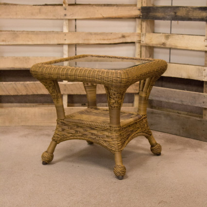 Carolina Antique End Table by Erwin & Sons