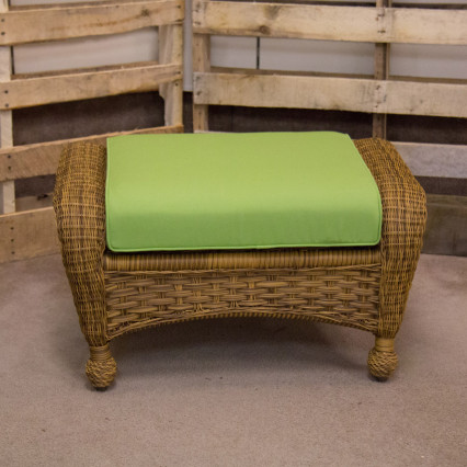 Carolina Antique Ottoman by Erwin & Sons