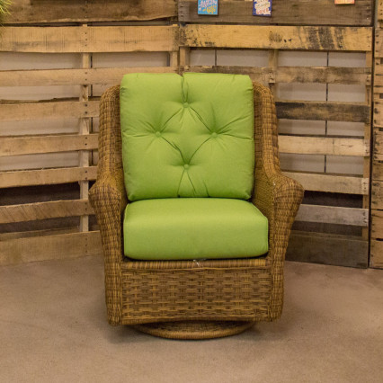 Carolina Antique Swivel Glider by Erwin & Sons