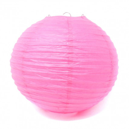 Paper Lantern - 14in Fuschia