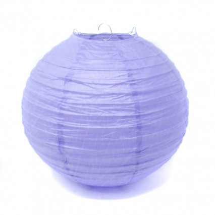 Paper Lantern - 14in Purple