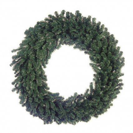 "Allstate YWW760-GR 60"" Deluxe Windsor Pine Artificial Christmas Wreath - Unlit"