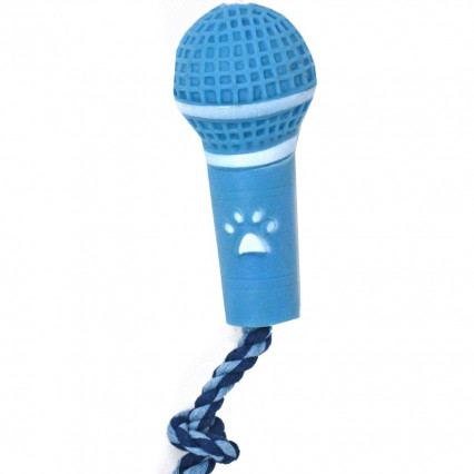 Dog Microphone Toy Blue