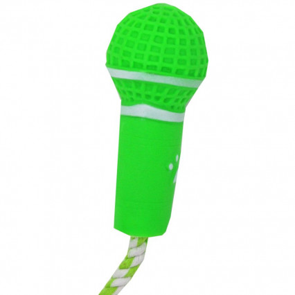 Dog Microphone Toy Green