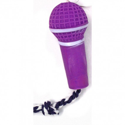 Dog Microphone Toy Purple