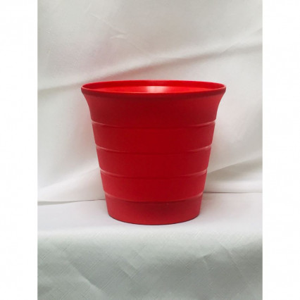 "6"" Planter Red"