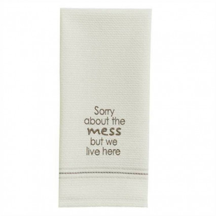 Sorry About the Mess Dishtowel