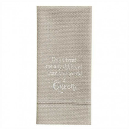A Queen Dishtowel