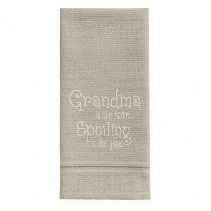 Grandmas The Name Dishtowel