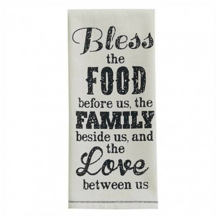 Bless The Food Dishtowel