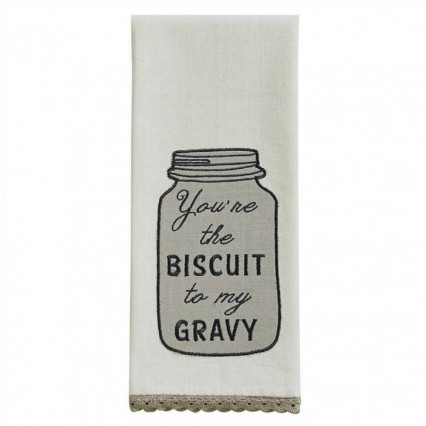 Biscuit To My Gravy Dishtowel