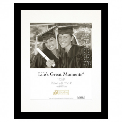 Life's Great Moments Collage Frame - 16x20, 11x14 Matte Black