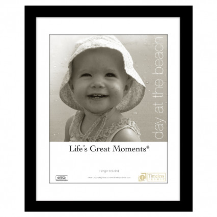 Life's Great Moments Collage Frame - 11x14, 8x10 Matte Black