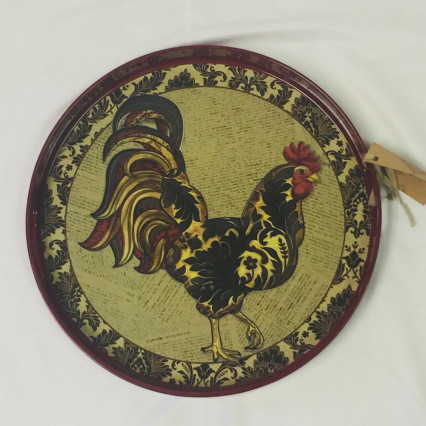 """Rooster"" Serving Tray"